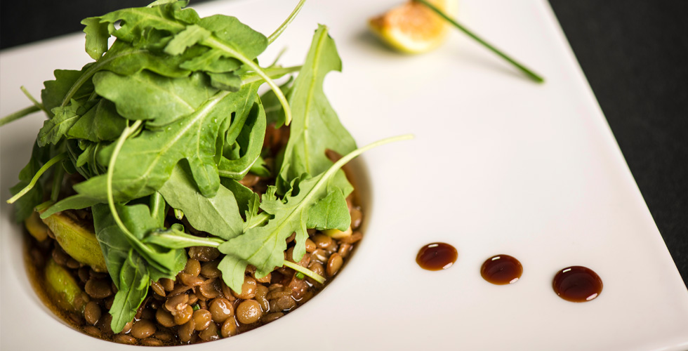 Lentil Salad With Fig