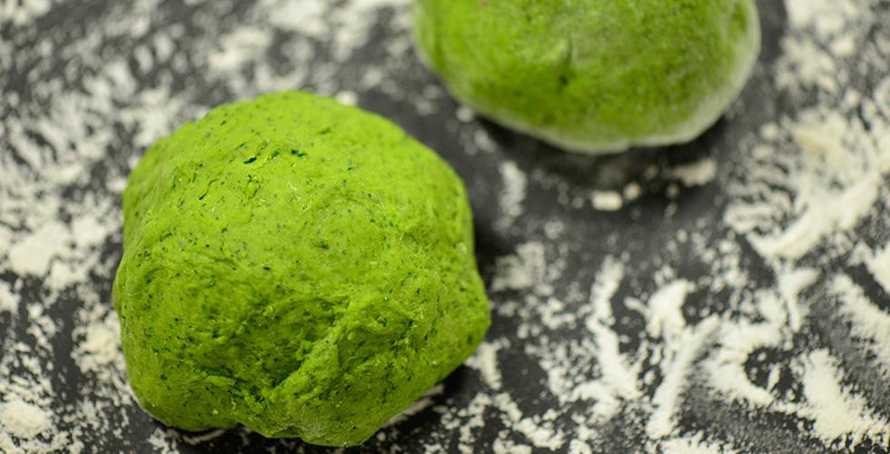Green Pasta dough