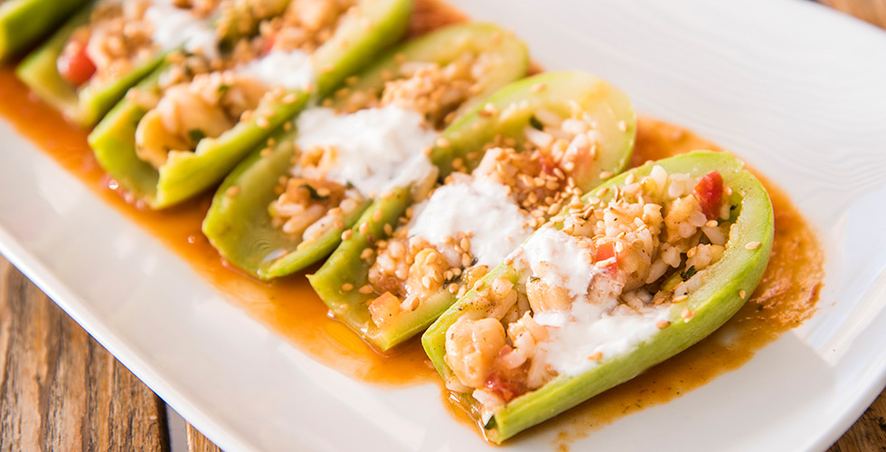 Zucchini with Chickpeas