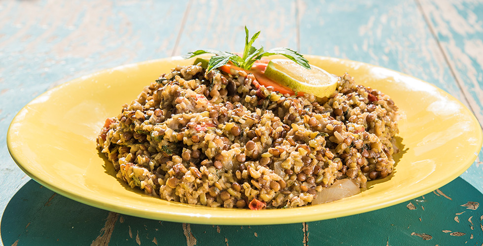 Freekeh with Lentil