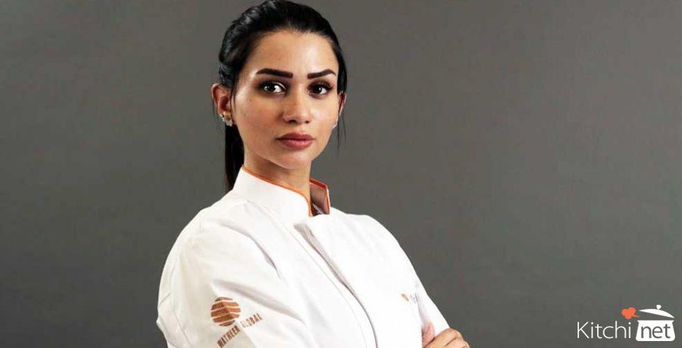 "Sama Jad, the first Saudi female""Top Chef"""
