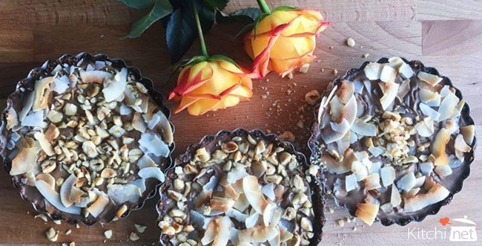 Chocolate-Coconut Tart