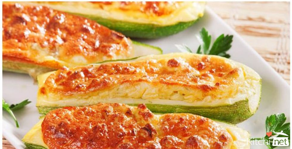 Vegetable Zucchini in the Oven