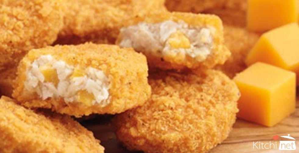 Cheesy Chicken Nuggets