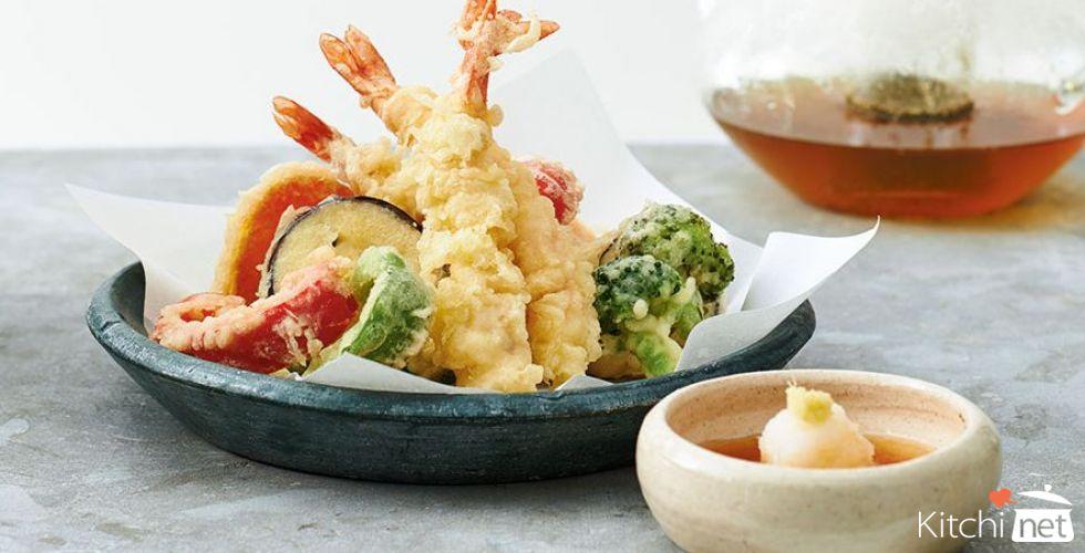 Vegetable and Shrimp Tempura