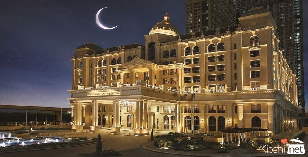 St. Regis Dubai - luxurious Iftar experience during the holy month