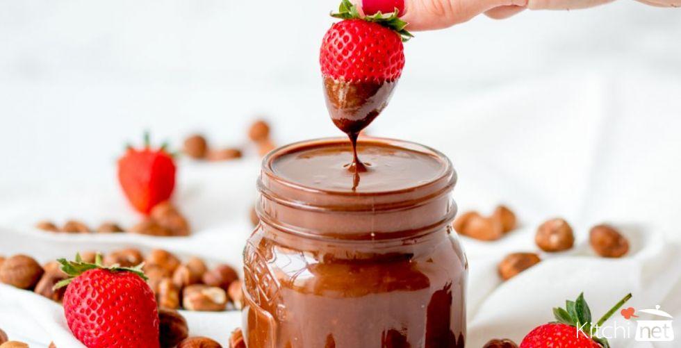 شوكولاتة النوتيلا المنزلية