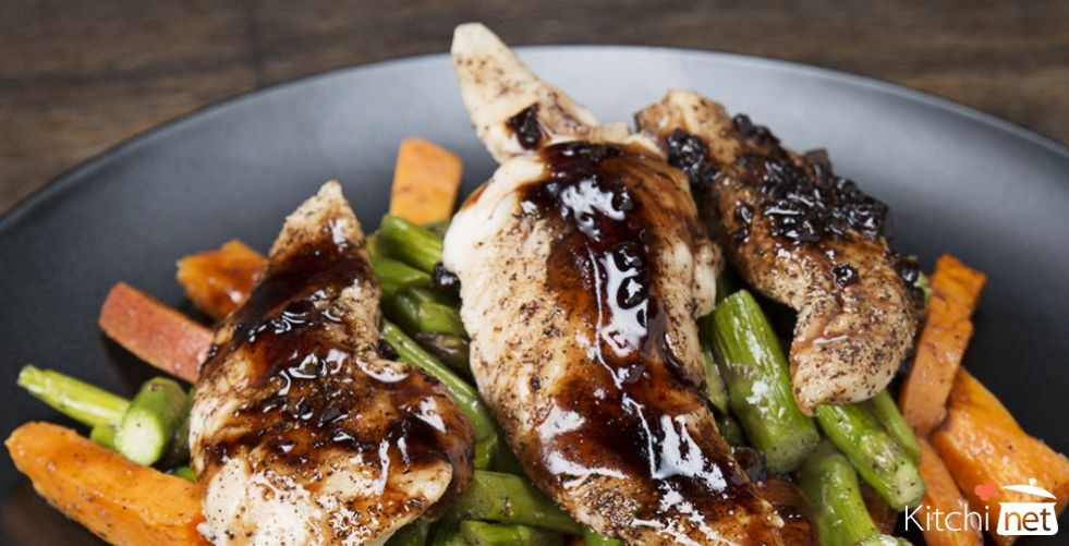 Balsamic Chicken and Veggies