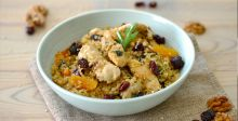 Quinoa with Chicken and Herbs