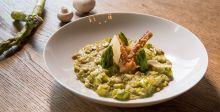 Asparagus & Pesto Risotto