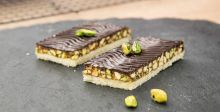 Pistachio and Chocolate Shortbread