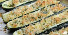 Summer Snacks Baked Zucchini