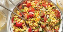 Sweet Corn Tomato Picnic Salad