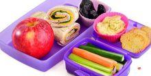 مأكولات لطفلك في المدرسة