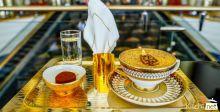 24-carat gold cappuccino served at Burj Al Arab