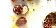Makdous Batinjan (Pickled Stuffed Eggplant) Bekaa Kafra