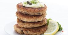 Salmon Tuna Patties