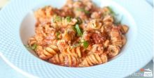 One-Pan Rotini with Tomato Cream Sauce