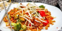 Thai Stir-Fried Noodles With Vegetables Ingredients