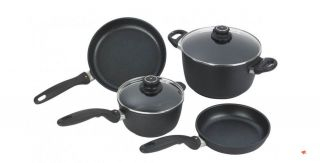 SET 6 PIECES FRYING COOKING PANS