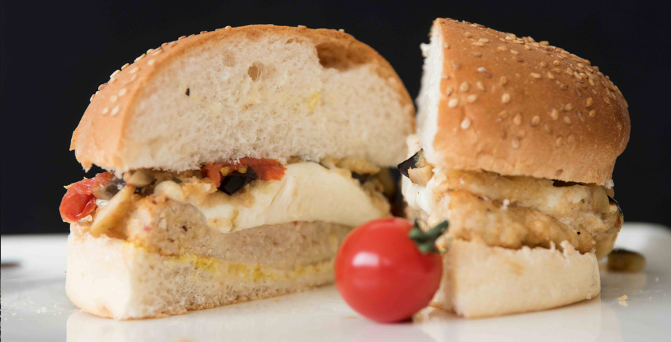 Mozzarella Chicken Burger